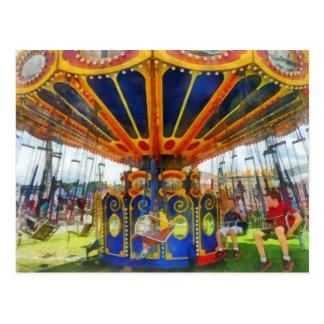 Carnaval - paseo estupendo del oscilación postales