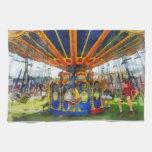 Carnaval - paseo estupendo del oscilación toalla