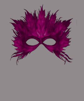 carnaval pink mask t-shirt