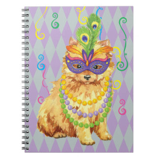 Carnaval Pomeranian Note Book