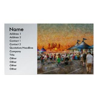 Carnaval - quién quiere los girocompases tarjetas de visita