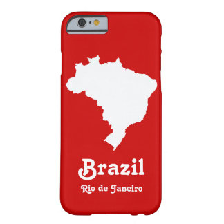 Carnaval Red Festive Brazil at Emporio Moffa Barely There iPhone 6 Case