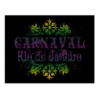 Carnaval Rio de Janeiro Postcard