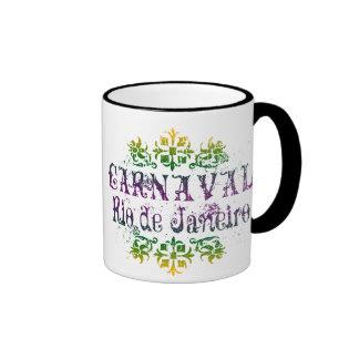 Carnaval Rio de Janeiro Ringer Coffee Mug