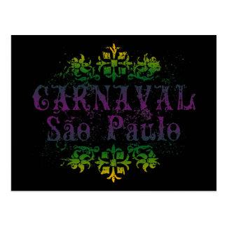 Carnaval Sao Paulo Postcard