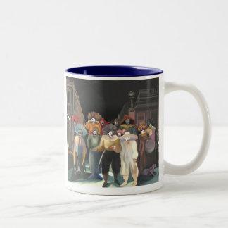 Carnaval Two-Tone Coffee Mug