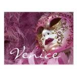 Carnaval, Venecia Postal