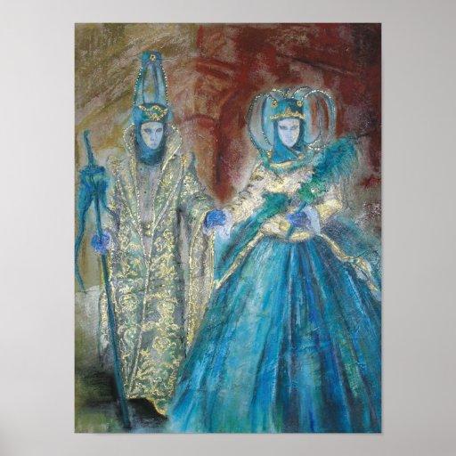 Carnaval veneciano póster