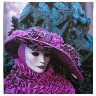 Carnaval veneciano servilletas de papel