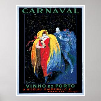 """""""Carnaval"""" Vinho hace el poster de Oporto"""