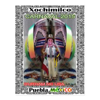 CARNAVAL XOCHIMILCO PUEBLA MEXICO CUSTOMIZABLE PRO POSTCARD
