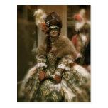 Carnaval XVIII de Venecia Postal