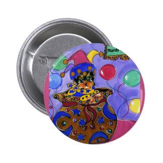 Carnaval Yorkie Poo Pin