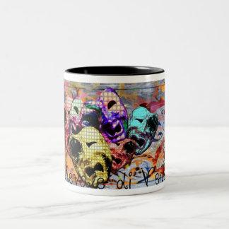"""Carnavale di Venezia "" Two-Tone Coffee Mug"