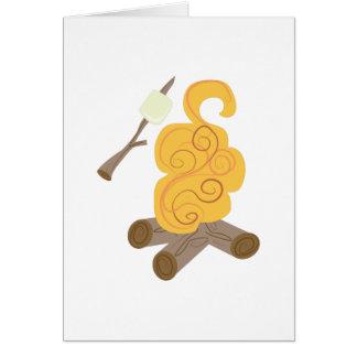 Carne asada de la melcocha tarjeta de felicitación