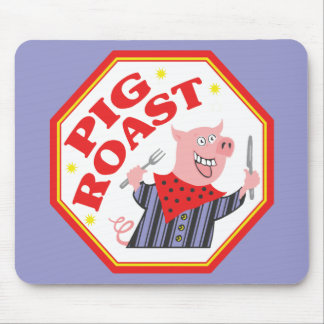 Carne asada del cerdo tapete de raton