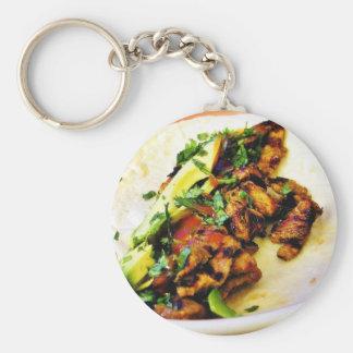 Carne Asada Tacos Keychain