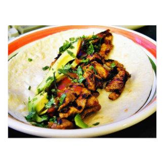 Carne Asada Tacos Postcard