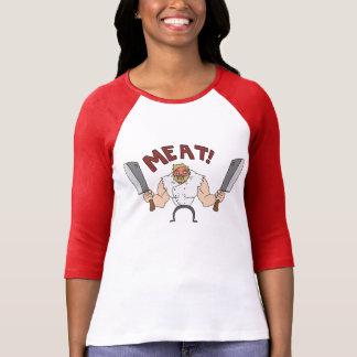 ¡CARNE! camisa para mujer de Bunglist de la rabia