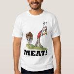 ¡CARNE! Camiseta Playeras