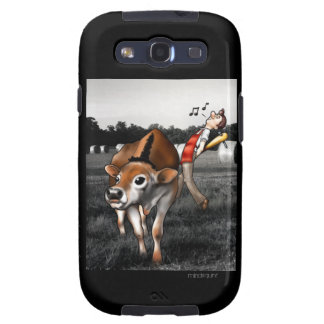 ¡CARNE! caso de 2,0 dibujos animados Galaxy S3 Fundas