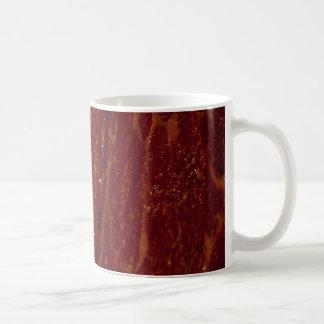 Carne cruda taza