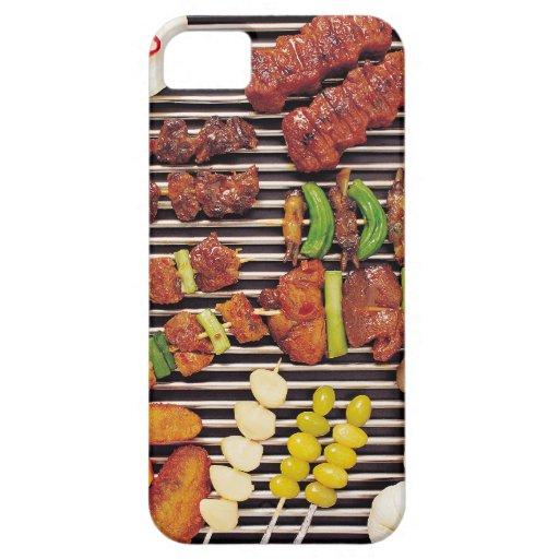 Carne de la barbacoa iPhone 5 carcasa