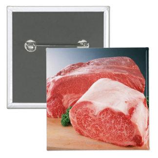 Carne de vaca 3 pin cuadrada 5 cm