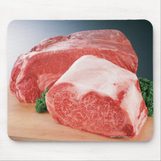 Carne de vaca 3 tapetes de ratón