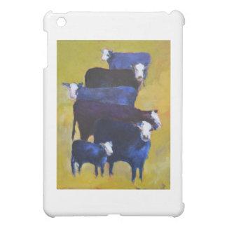 Carne de vaca apilada