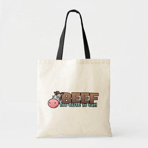 Carne de vaca: Demasiado lindo comer Bolsas