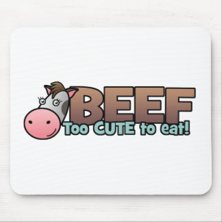 Carne de vaca: Demasiado lindo comer Tapete De Ratones