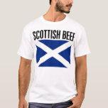 Carne de vaca escocesa playera