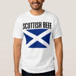 Carne de vaca escocesa remeras
