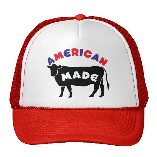 Carne de vaca hecha americana gorros