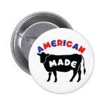 Carne de vaca hecha americana pin