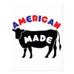 Carne de vaca hecha americana postales