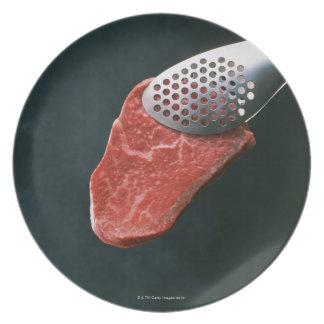 Carne de vaca platos de comidas