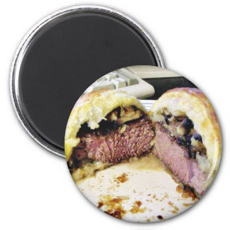 Carne de vaca Wellington Imán Para Frigorifico