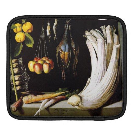 carne de venado, verduras y frutas de Sánchez Fundas Para iPads