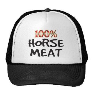 Carne del caballo el 100 por ciento gorro de camionero