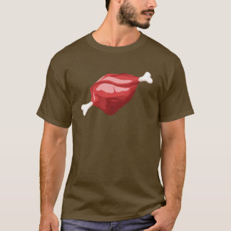 Carne en la camisa del hueso