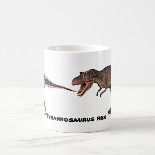 Carne-n-Hueso de T-rex, taza
