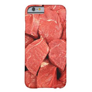 Carne temática funda para iPhone 6 barely there