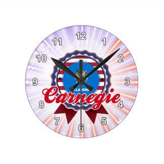 Carnegie AUTORIZACIÓN Relojes De Pared