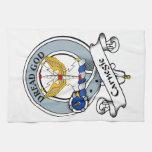 Carnegie Clan Badge Kitchen Towel
