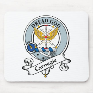 Carnegie Clan Badge Mouse Pad