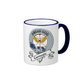 Carnegie Clan Badge Ringer Coffee Mug
