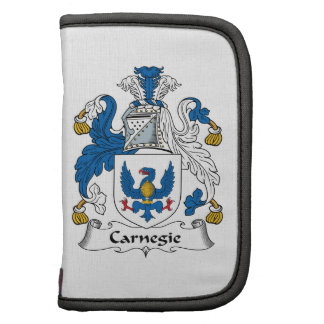 Carnegie Family Crest Folio Planners