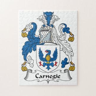 Carnegie Family Crest Puzzles
